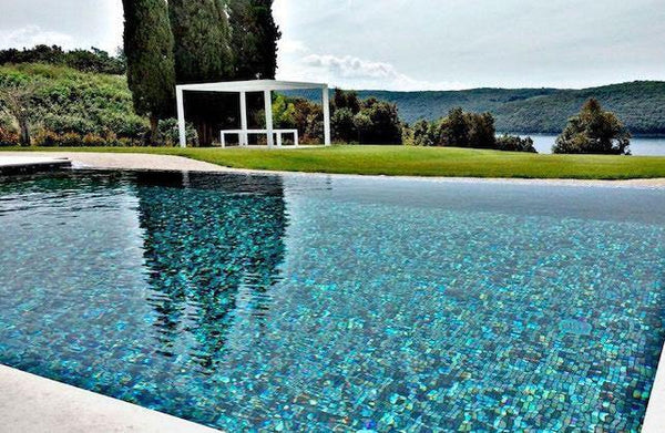 Glass Mosaic Tiles for Swimming Pools: Knowing your Options-Mineral Tiles