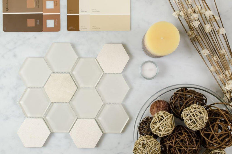 Bathroom Backsplash Ideas: Playing Around With Tiles-Mineral Tiles
