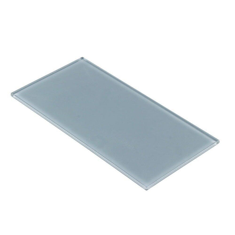 Glass Subway Tile Metropole Blue 4x8