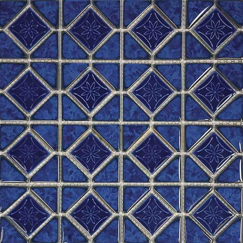 Fiji Blue Diamond Pool Mosaic Tile