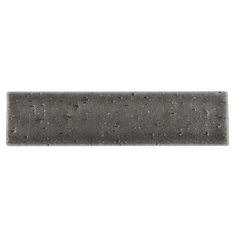 Brick Subway Tile Glazed Charcoal 2.5x9.5
