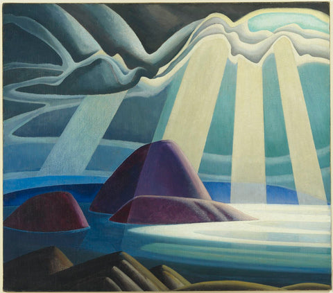 Lawren S. Harris, Lake Superior, circa 1923, oil on canvas, 111.8 x 126.9 cm. The Thomson Collection at the Art Gallery of Ontario. © 2016 Estate of Lawren S. Harris
