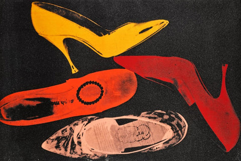 Andy Warhol 1928 - 1987 Shoes, (F. & S. II.253)1022 x 1511 mm 40¼ x 59½ in.