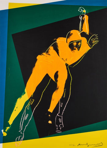 Andy Warhol 1928 -1987, Speed Skater,  (F. & S. II.303) 851 x 620 mm 33½ x 24½ in.