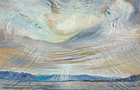Emily Carr, Sky, 1935–36, oil on wove paper, 58.7 x 90.7 cm. National Gallery of Canada, Ottawa