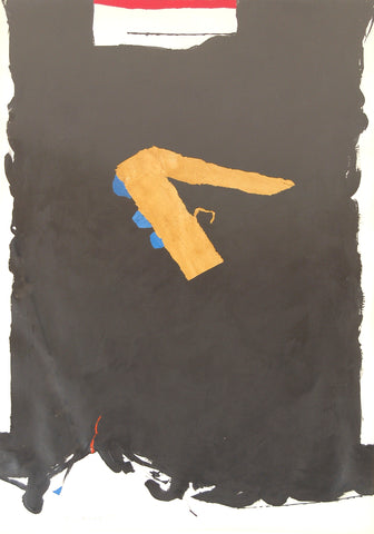 Ray Mead, Sometimes 6459 1980, acrylic on paper 39 7/8 x 26 in
