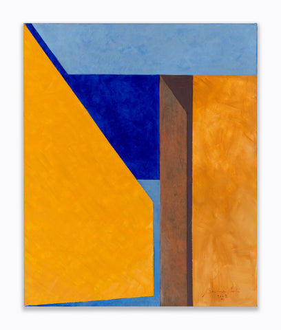 Untitled, 2002  Acrylic on canvas  46 x 38 inches