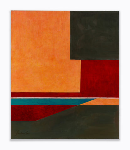 Untitled, 2011  Acrylic on canvas  46 x 38 inches