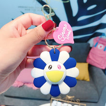Load image into Gallery viewer, Murakami Inspired Key Chain w/ Tag