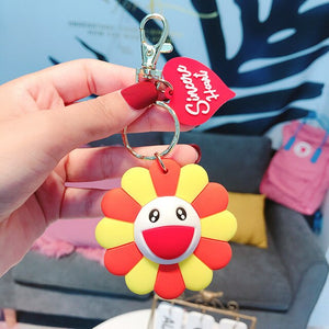 Murakami Inspired Key Chain w/ Tag
