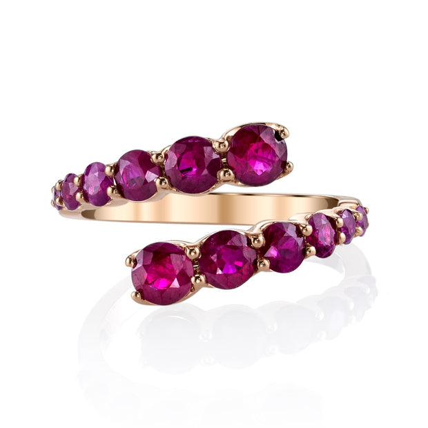 Ruby twist ring