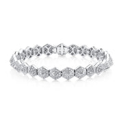 SIX-SIDED DIAMOND SPIKE BRACELET