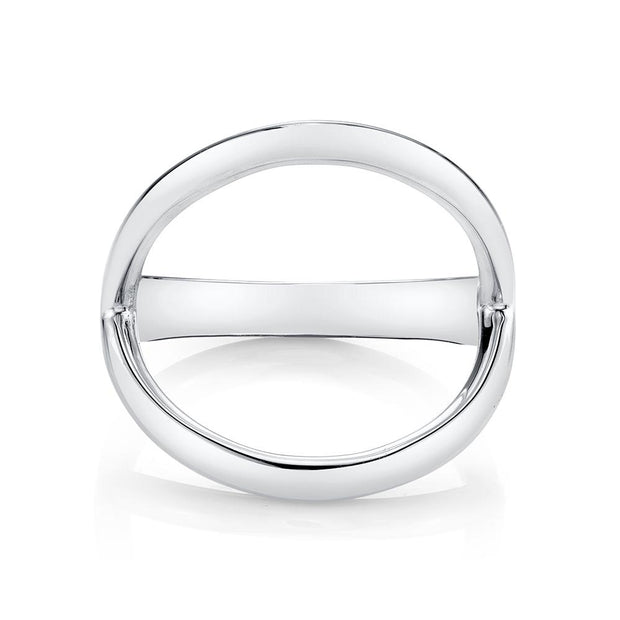 Plain arc ring