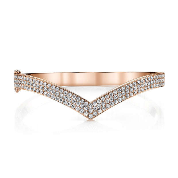 DIAMOND V BANGLE