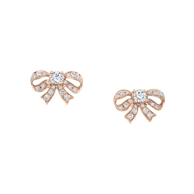 Diamond bow studs