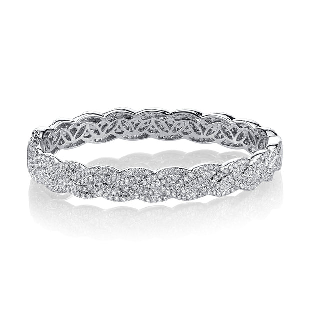 DIAMOND BRAIDED BRACELET