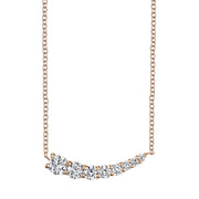 SMALL DIAMOND GRADUATED NECKLACE