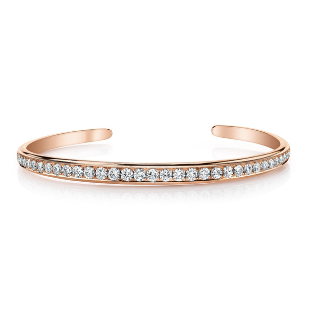 SINGLE ROW DIAMOND CUFF