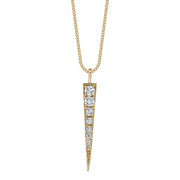 MEDIUM DIAMOND DAGGER NECKLACE
