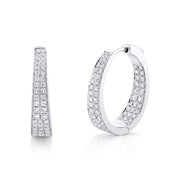 DIAMOND MERYL HOOPS