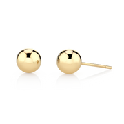 LARGE BALL STUD EARRINGS
