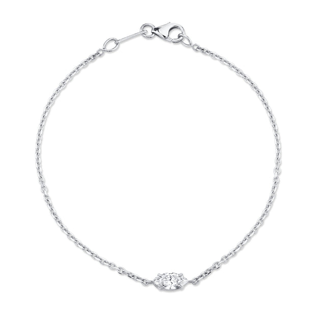 MARQUIS DIAMOND CHAIN BRACELET