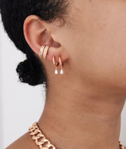 THIN BRAID EAR CUFF