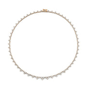 DIAMOND TRIANGLE ETERNITY CHOKER
