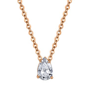 PEAR SHAPED DIAMOND PENDANT .31CT