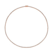 DIAMOND HEPBURN CHOKER 16""