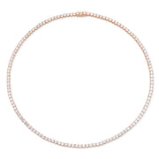 LARGE DIAMOND HEPBURN CHOKER 16""