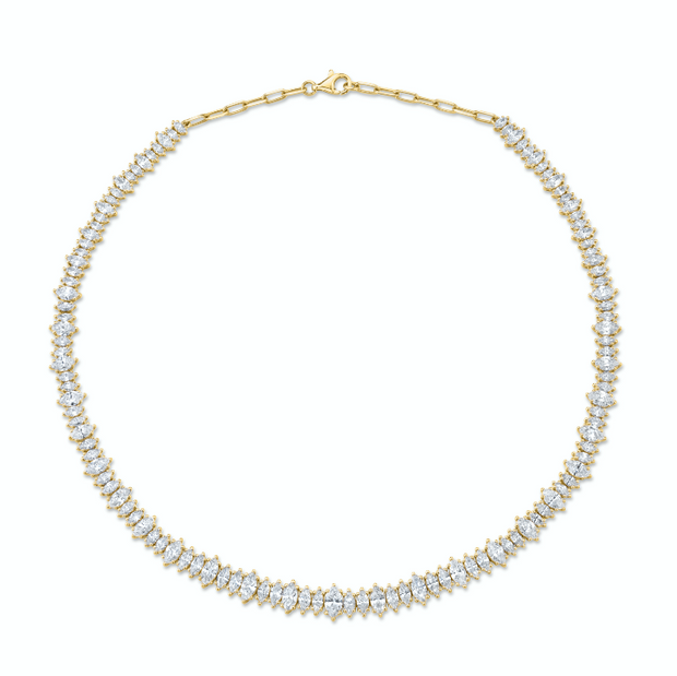 MARQUIS DIAMOND CHOKER