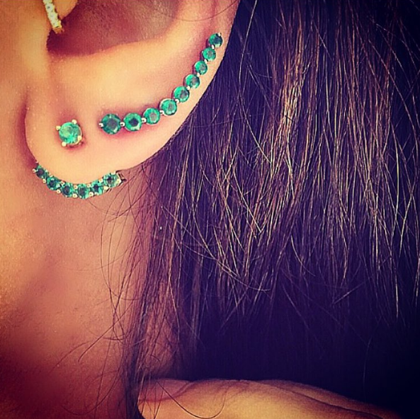 EMERALD EAR JACKET