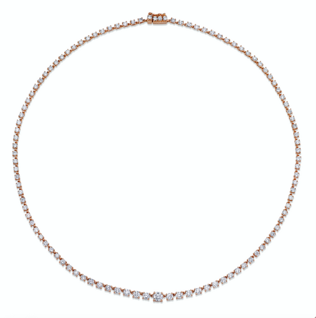 DIAMOND ROPE CHOKER