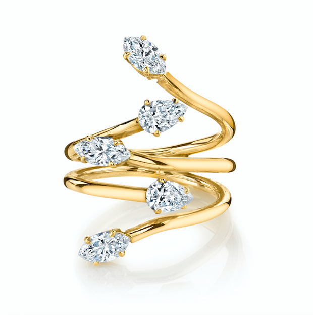 VINE DIAMOND RING