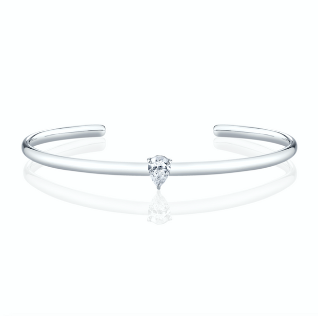 PEAR SHAPED DIAMOND CUFF