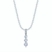 SMALL DIAMOND TWIGGY NECKLACE