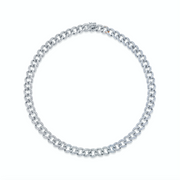 SMALL DIAMOND CHAIN LINK CHOKER