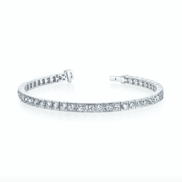LARGE SERENA DIAMOND TENNIS BRACELET