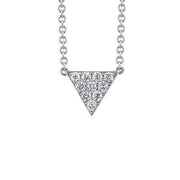 SMALL DIAMOND TRIANGLE NECKLACE