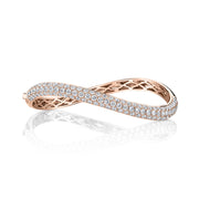 DIAMOND CURVED BANGLE