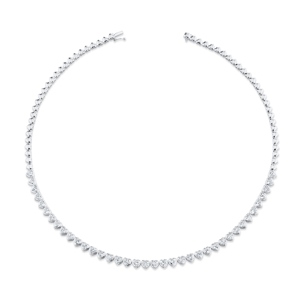 HEART DIAMOND BEZEL CHOKER