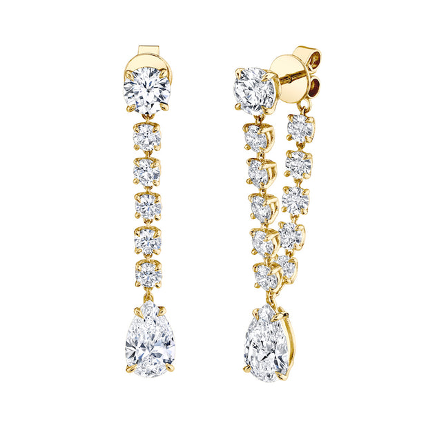 LARGE DIAMOND OLIVIA EARRINGS