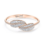 PALM LEAF DIAMOND BRACELET