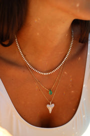 PEAR SHAPED EMERALD PENDANT 1.29