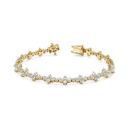 Diamond vivi tennis bracelet