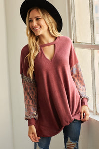 See You in Texas Boho Tunic with Front Knot by Lovely Melody