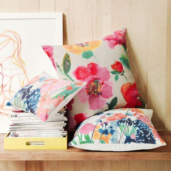 DIY Watercolor Pillows Dropps®