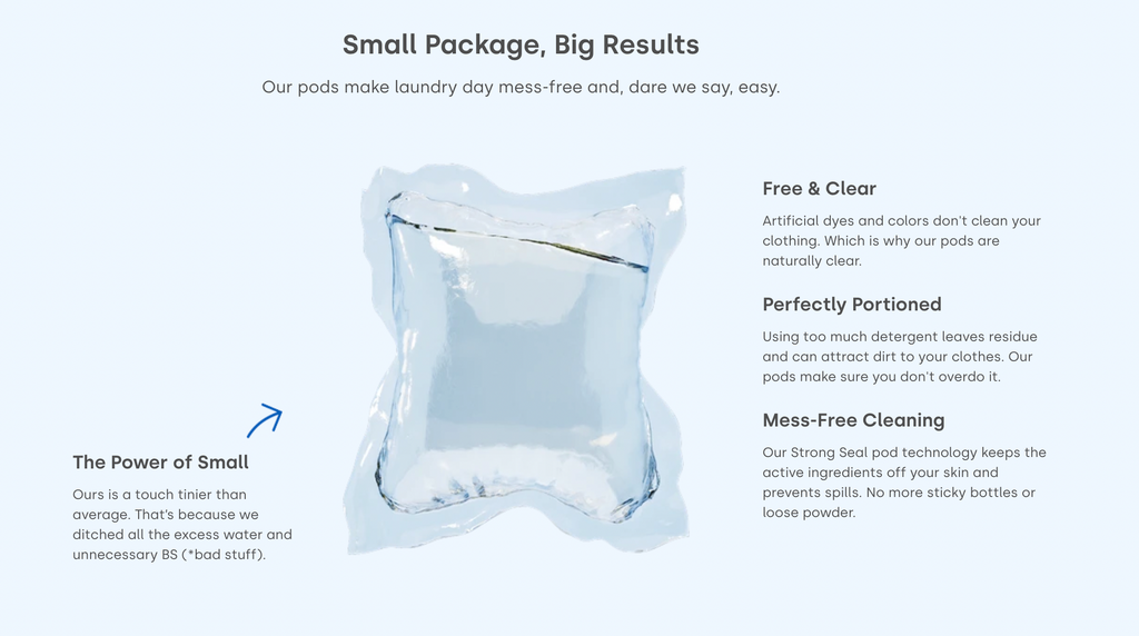 Dropps Pods: Small Package, Big Results