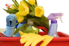 spring cleaning tips from Dropps
